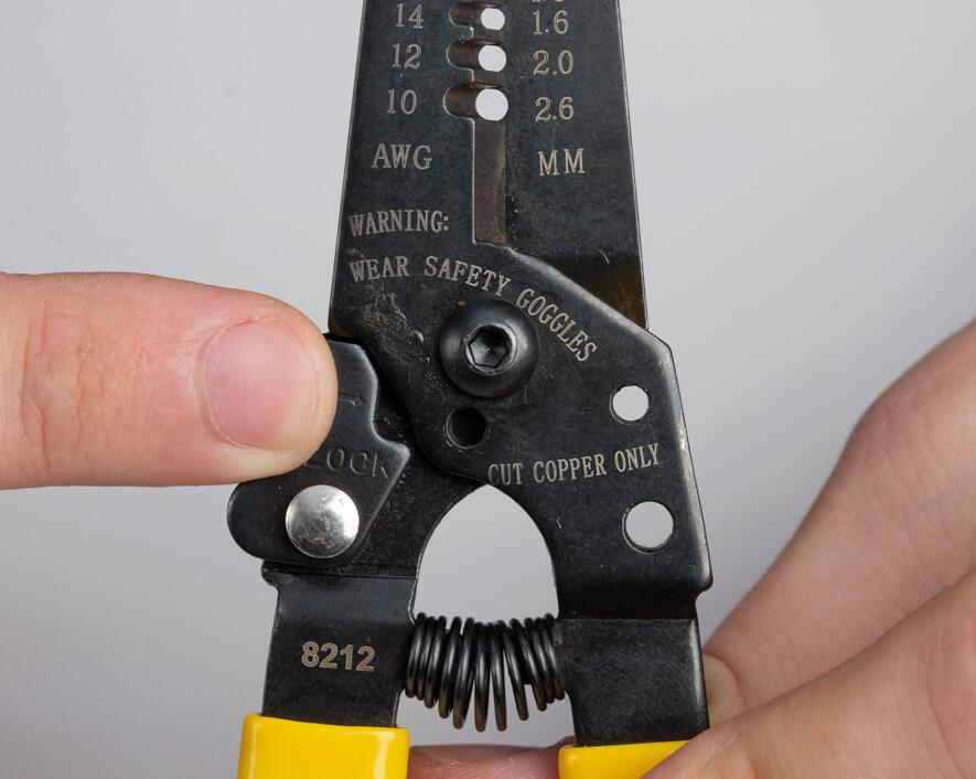 6-3//4 Length 6-3//4 Length Jonard Industries Jonard JIC-2030 20-30 AWG Wire Stripper and Cutter,black oxide finish