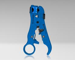 UST-525 - Universal Cable Stripping Tool with Cable Stop for COAX, Network, and Telephone Cables
